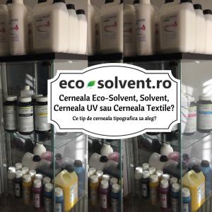 cerneala eco-solvent, uv, cerneala textile DTG